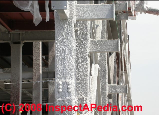 spray on fireproofing on steel