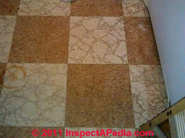 To Identify Floor Tiles Sheet Flooring That May Contain Asbestos