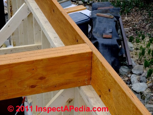 Wooden build up wood beam pdf plans