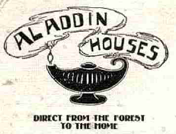 Aladdin kit homes catalog logo from 1910