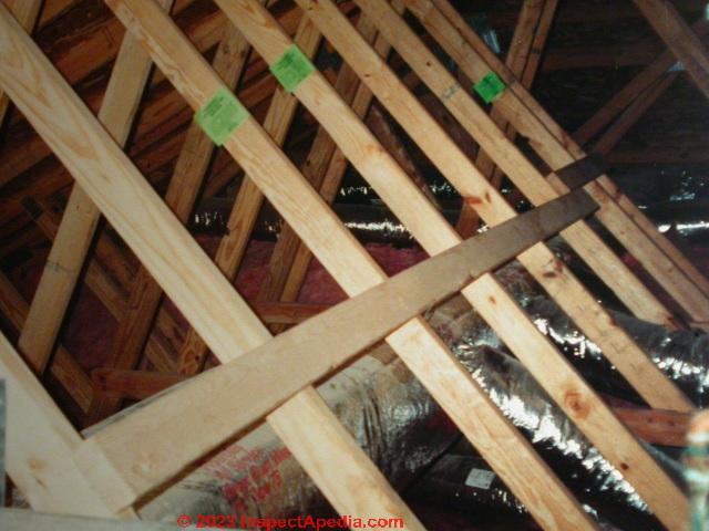Wood Truss Floor Construction