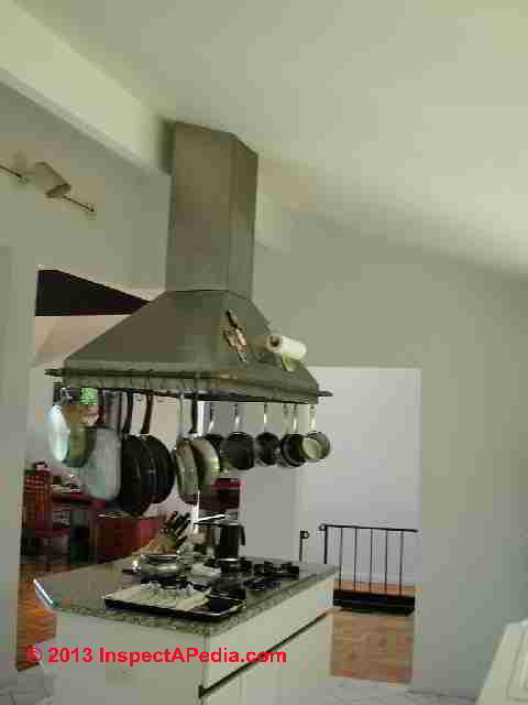 Amp installation of kitchen exhaust fans or kitchen vent systems