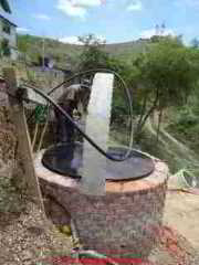 Dug well with pump and piping in process (C) D Friedman A Starkman
