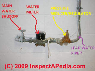 Water pressure regulator control (C) Daniel Friedman