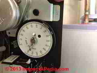 Water softener control using dial & pins (C) InspectApedia & CLB 2013 details pending
