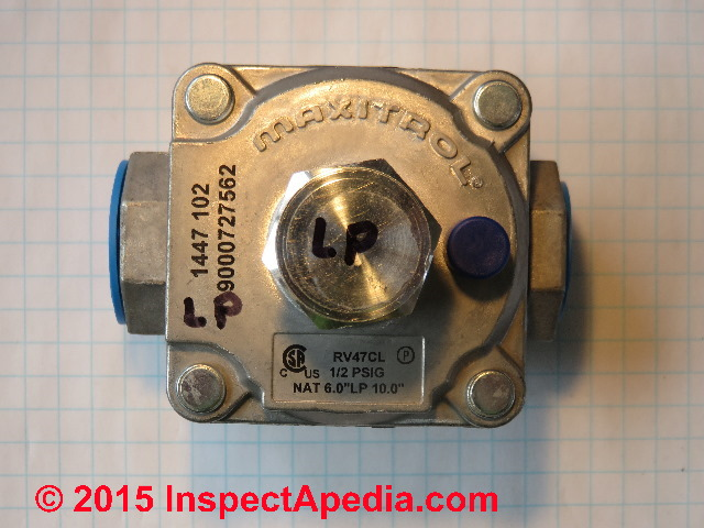 Gas appliance regulator conversion How to Convert a Gas Appliance
