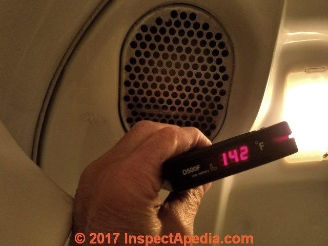 Clothes dryer dryer vent temperature measurements field measurement of temperatures in a clothes dryer its vent fandeluxe Images
