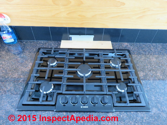 Bosch Gas Cooktop Installed C Daniel Friedman How To Install