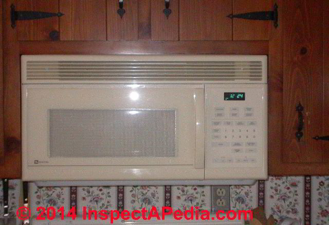 Microwave Oven Ventilation Installation Specifications