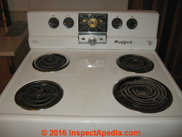 Question: Do 1950's era Moffat Stoves, Ranges, & Ovens contain asbestos?