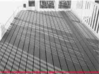 Figure 4-1: Photo of decay-resistant deck construction  (C) J Wiley, S Bliss