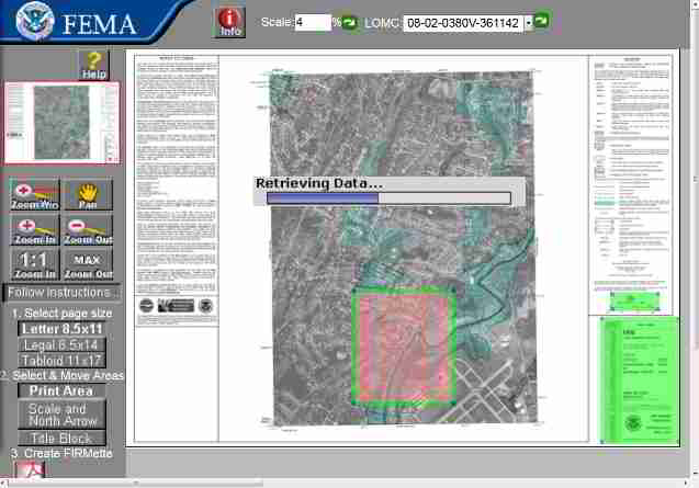FEMA flood zone map for Wappingers Creekk 2013