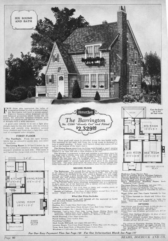 Sears Catalog Kit Houses how to identify a Sears Catalog Home – Sears Homes Floor Plans