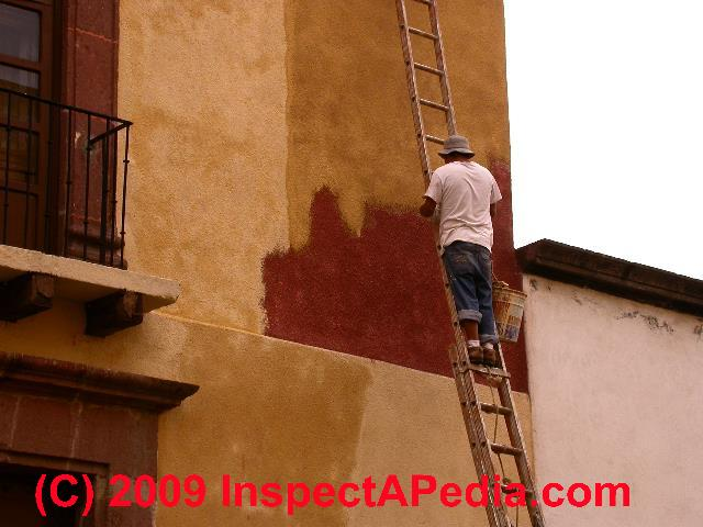 Stucco Paint Failure Diagnosis Stucco Painting Advice From A Paint Failure Investigation Expert