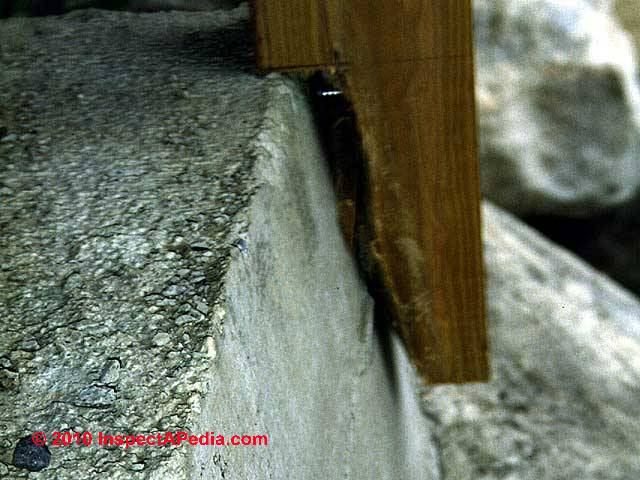 Stair support unsafe  C  Daniel FriedmanExterior Stairways  Guide to Outdoor Stair  Railing  Landing  . Outdoor Timber Stair Construction. Home Design Ideas
