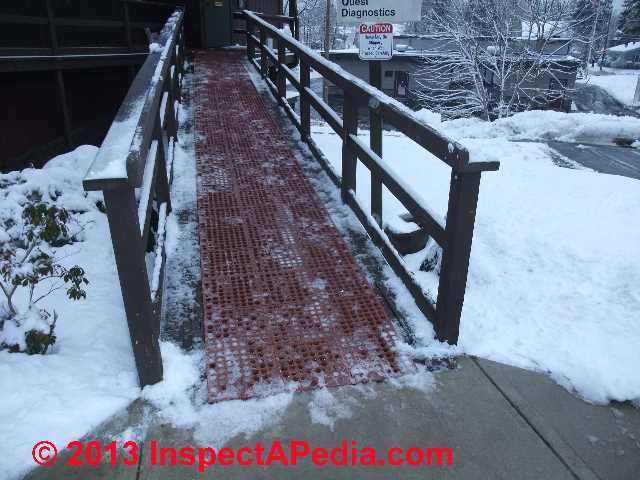 Building Access Ramp Slip Prevention Improve Ramp