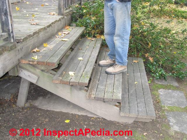 Deck Steps Construction : Porch deck stair construction how to build exterior stairs