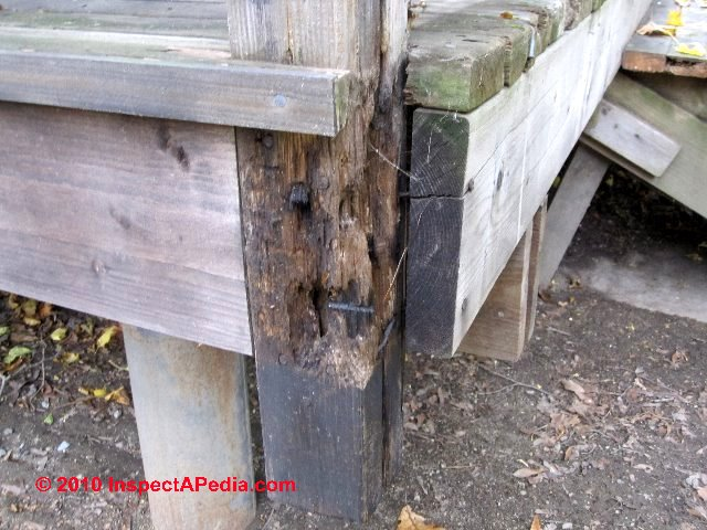 Rot Resistant Lumber Choices For Deck Framing Amp Deck Or
