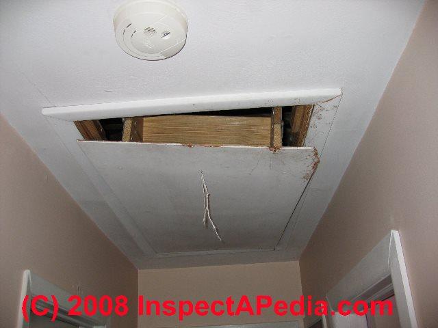 attic door pull ideas - Attic Stairs & Stairways Guide to Stair Railing Landing