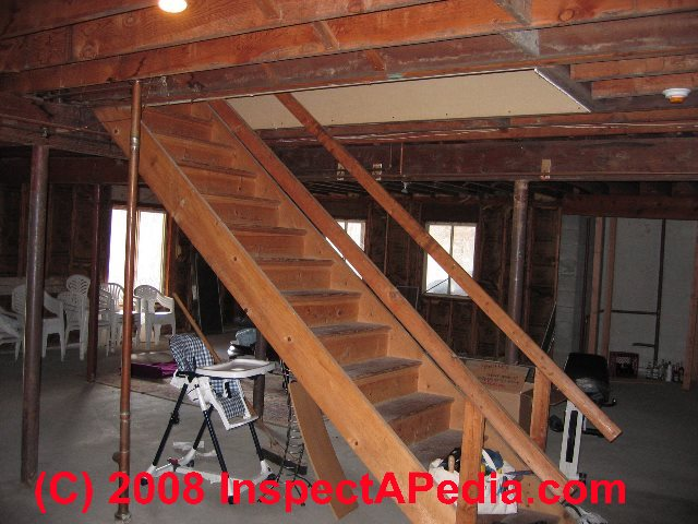 Basement Stair Landing Decorating: Basement Stairways: Guide To Stair, Railing, Landing