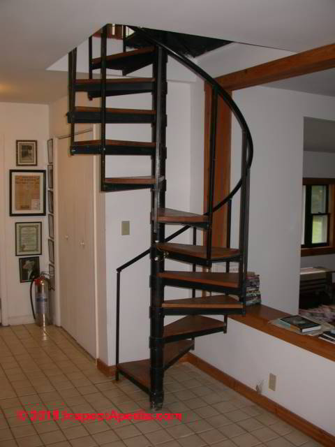 Circular stairs circular stair kits circular star for Circular stairway