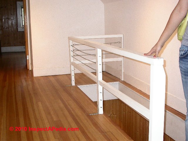 Cable railings: Building Code Rules & Installation Specifications ...
