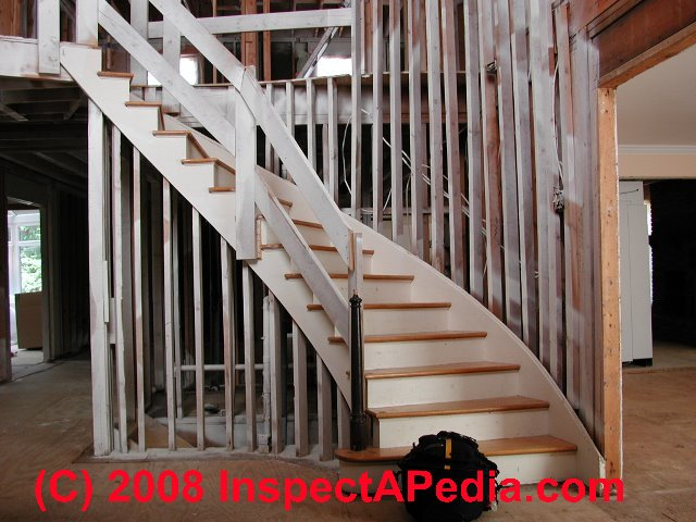 Winding or turned stairways guide to stair winders angled stairs codes construction - Stairlift for curved staircase ...