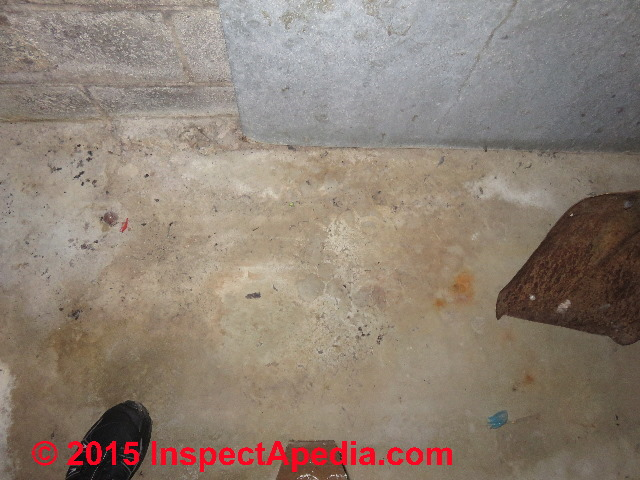 Wet Spots On Basement Floor Walesfootprint Org