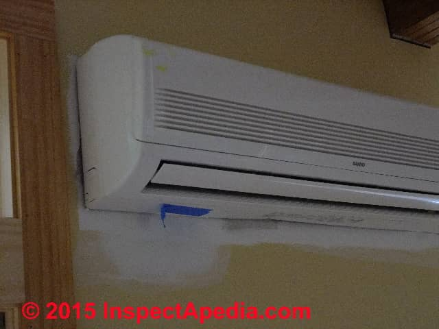 Ductless Split System Air Conditioners Amp Heat Pumps Mini