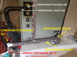 Condensate pump guide: Air Conditioning condensate condensate pumps, and  their proper installationInspectAPedia.com