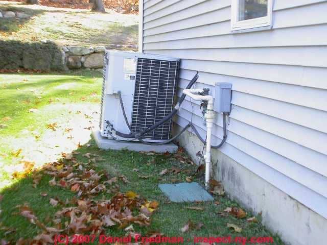 Air conditioner installation air conditioning compressor for Ac condenser pad installation