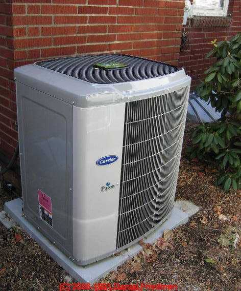 Photos of types of air conditioners types of air for Ac condenser pad installation