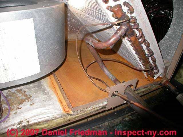 Air Handler Leaks Mold Water Problems Heating Amp Air