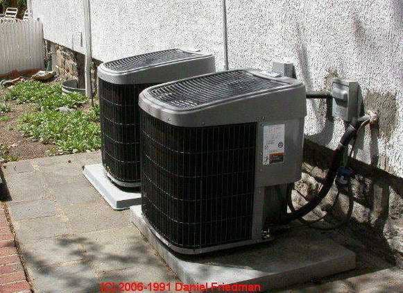 Air Conditioner Or Heat Pump Compressor Condenser
