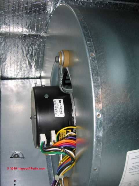 how to lubricate air conditioner fan motor