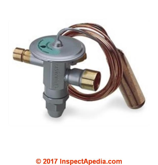 Universal 5 Ton Tev Thermostatic Expansion Valve Replacement Part C Inspectapedia