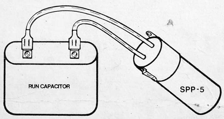 hard start capacitor wiring (c) d friedman sealed parts co