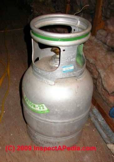 R22 Freon For Sale >> Air Conditioning & Heat Pump Refrigerant Gases, gas properties, gas substututes, R12, R22, R-410 ...