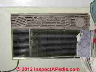 Window AC unit with remoable front (C) Daniel Friedman