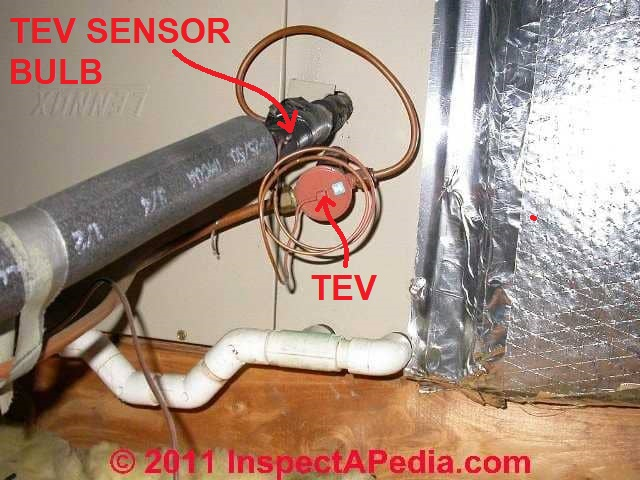 Thermostatic Expansion Valve Tev Install Inspect