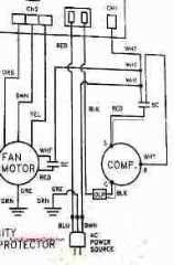 start or run capacitor diagnostic checks: how to use a vom or multimeter to  test a motor starting capacitor  wiring diagram