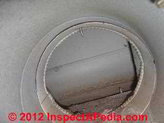 Water and rodents in air duct (C) D Friedman