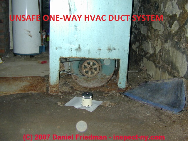 air duct leaks loose or leaky air duct connections effects repairs