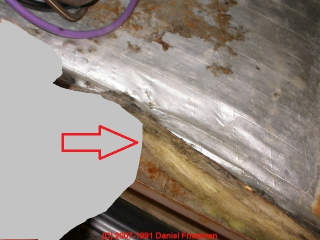 how to clean fiberglass air ducts