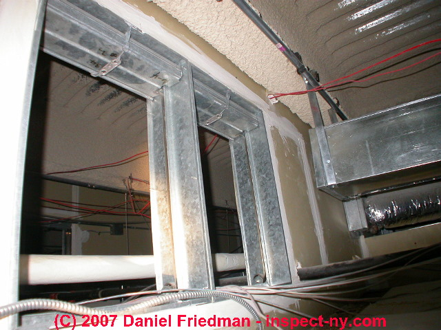 Duct airflow balancing hvac guide to balancing heating air photograph of commercial air conditioning system ceiling plenum with debris fandeluxe Image collections