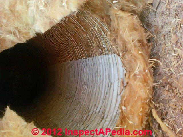 Duct Damage Mechanically Damaged Hvac Ducts