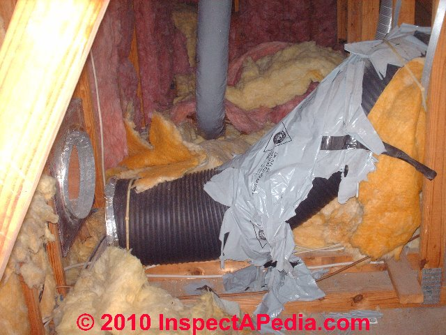 Air Conditioners Owl Flex Gray Flex Duct Deterioration