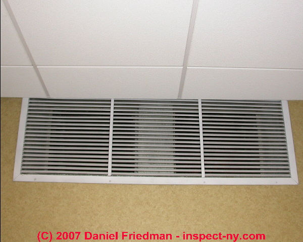 Duct air flow: HVAC system return air & air flow or air