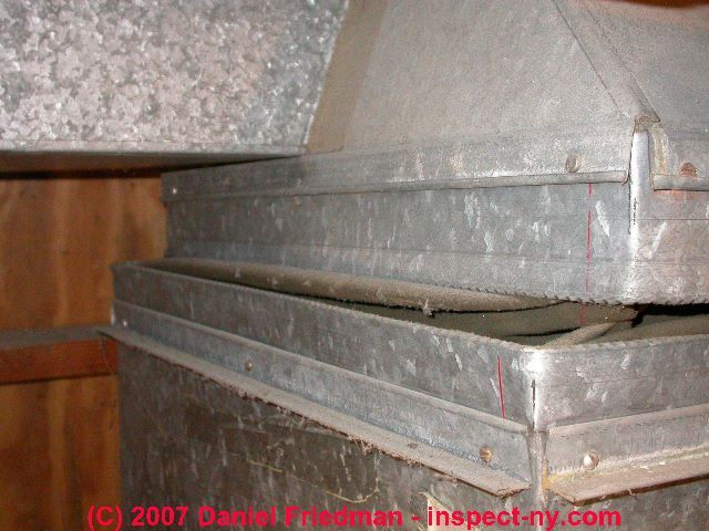Hvac Duct Vibration Dampeners Asbestos Fabrics In