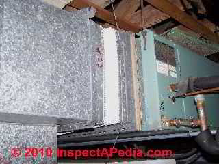 Asbestos duct vibration damper cloth (C) D Friedman J Lee